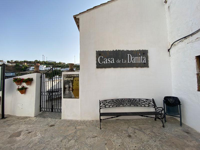 Casa de La Damita en Setenil de las Bodegas