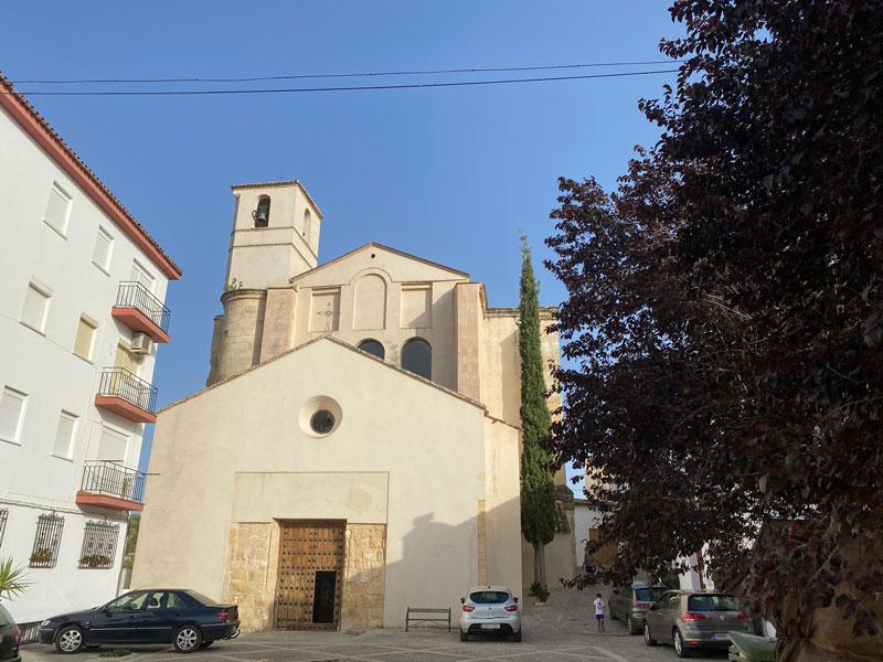 Iglesia de Ntra Sra de la Encarnacion en Setenil de las Bodegas