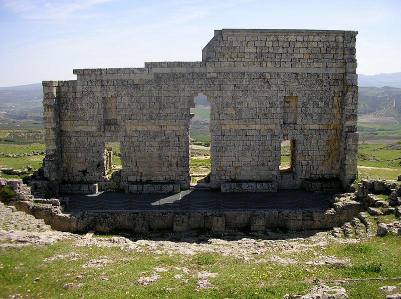 Vista de las ruinas de acinipo