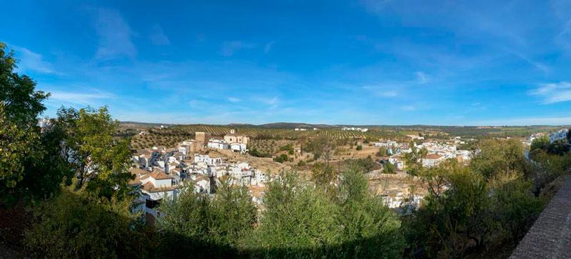 Vistas desde el Mirador de la calle San Sebastián